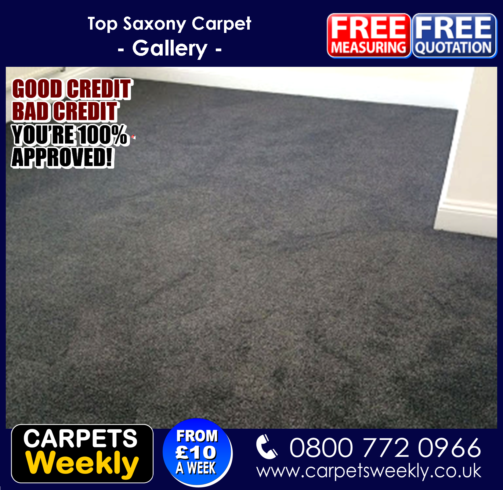 Carpets Weekly Combi Stairs with Apollo Silver Grey  4