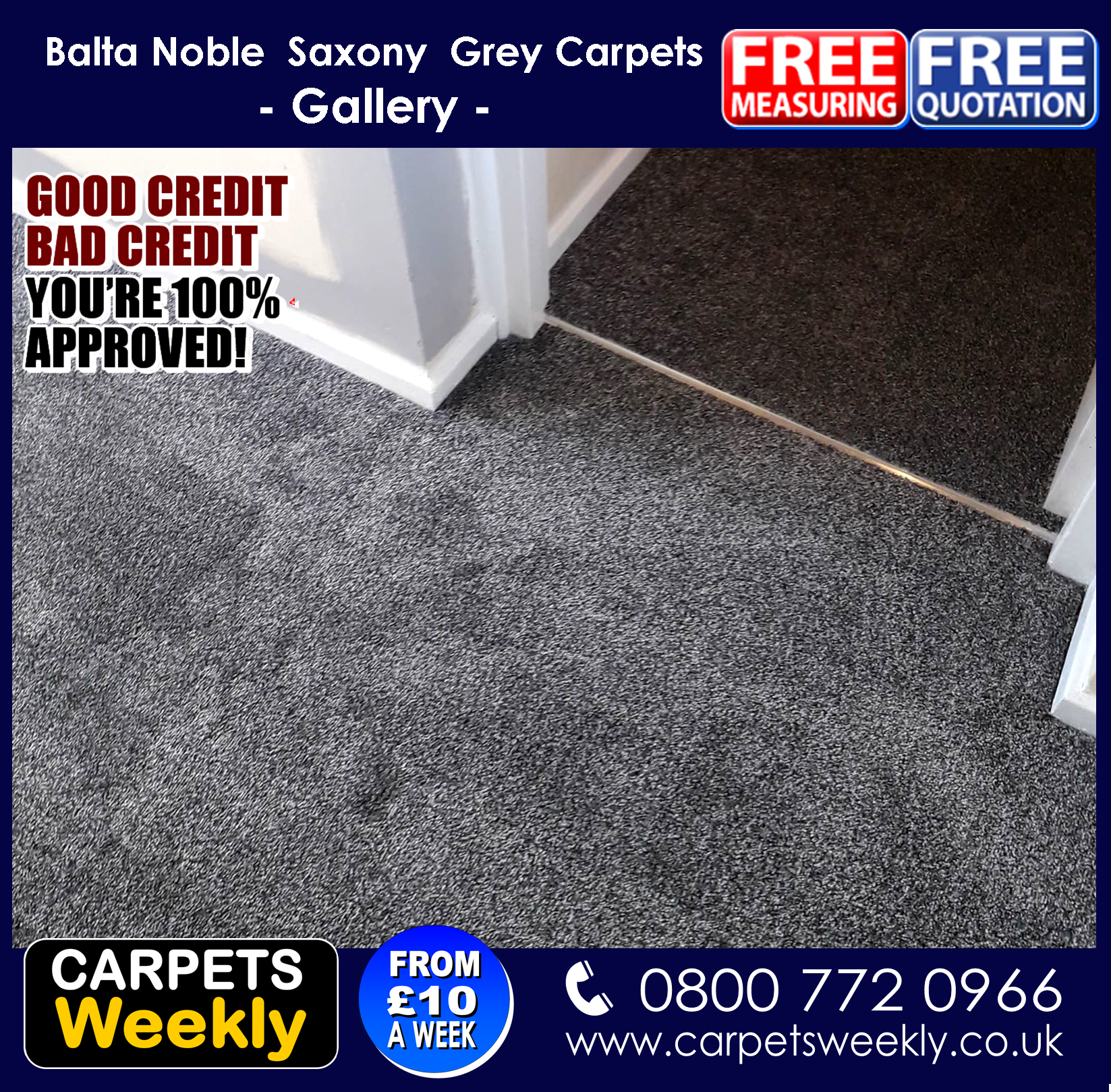 Carpets WeeklyOak Grey Laminate June 2019 2