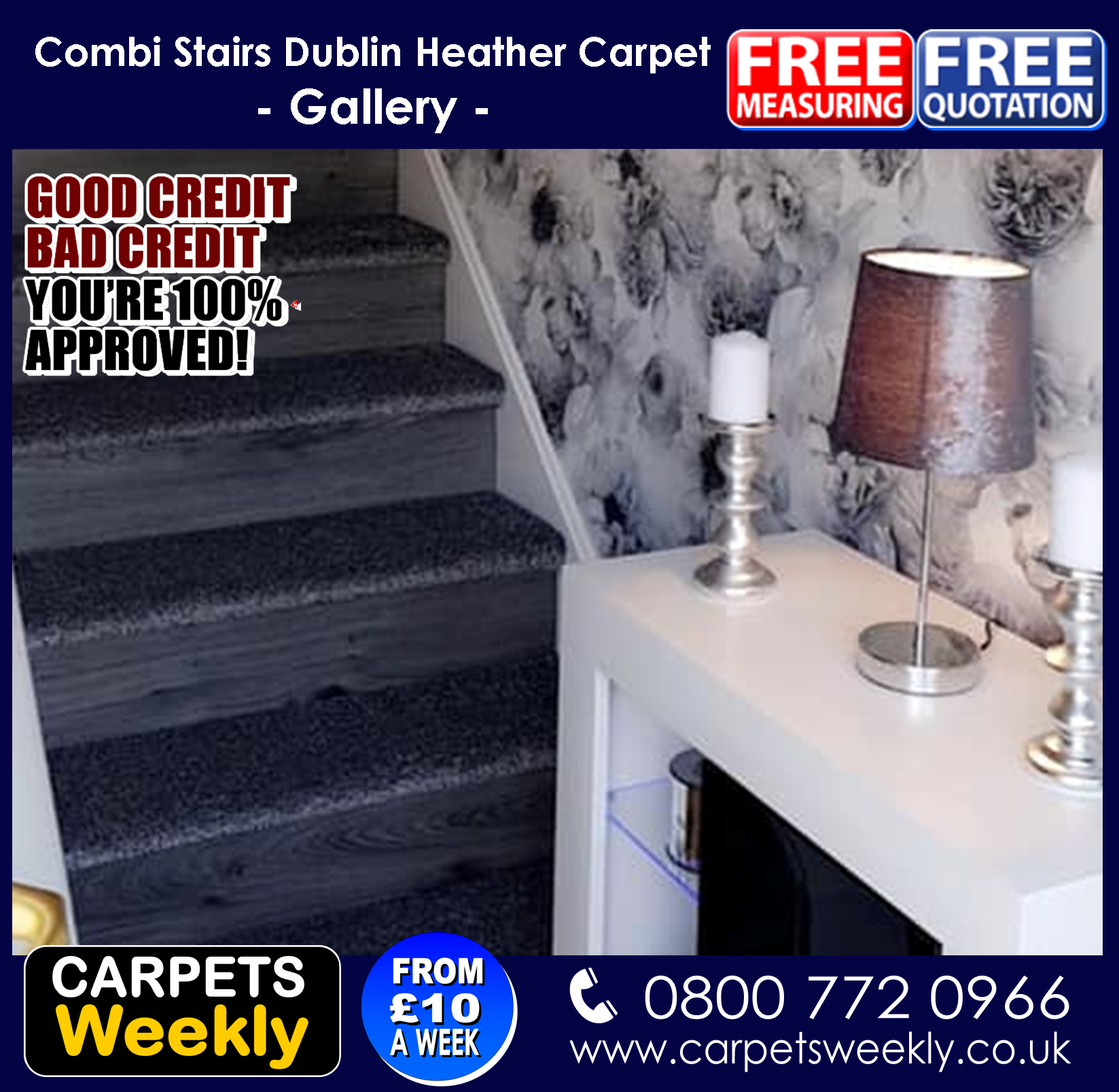 Dublin Heather Carpet Range from Quick Fit Carpets