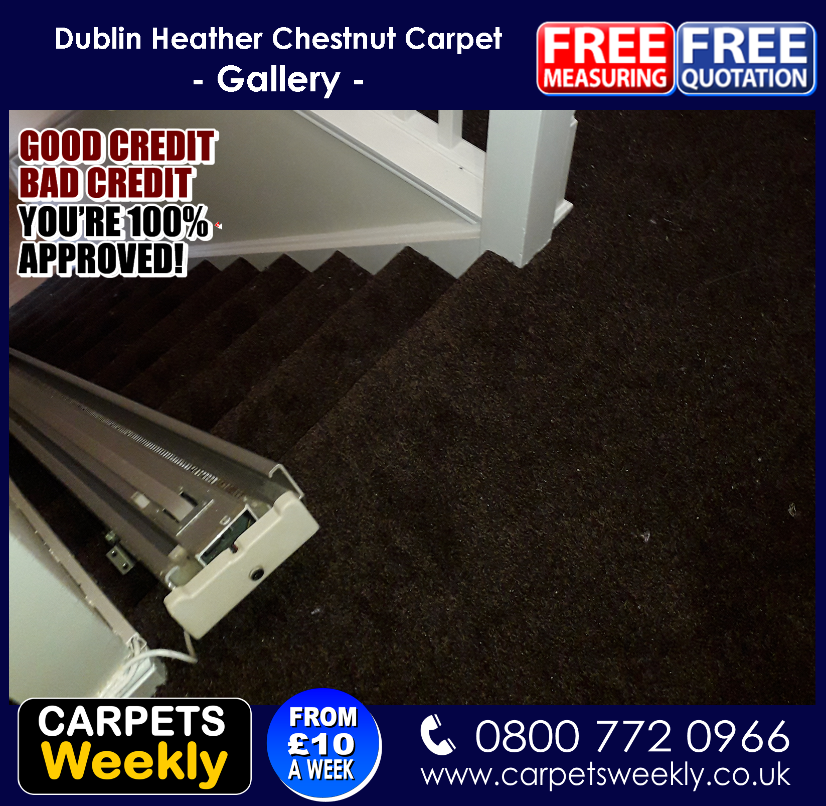 Dublin Heather Carpet from Carpets Weekly