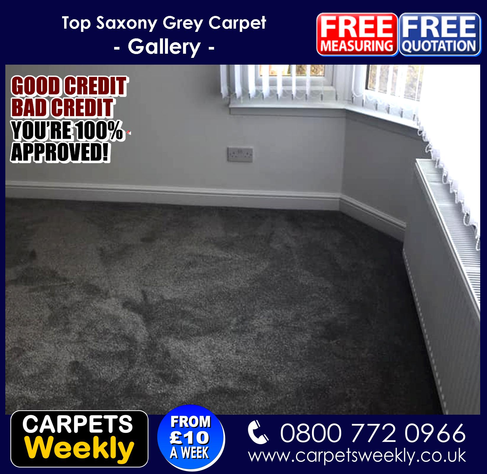 Carpets Weekly Apollo Dark Grey Carpet with Grey Oak laminate minate Combi 3