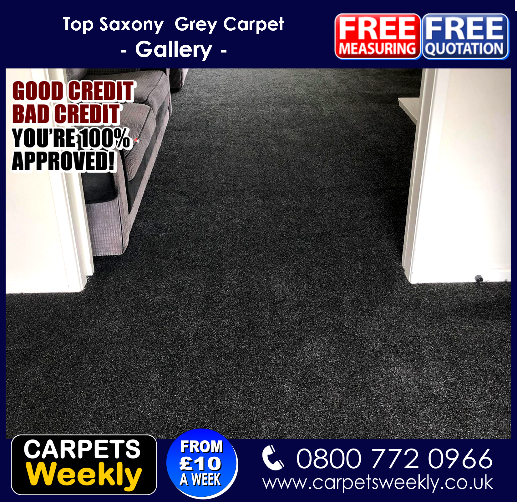 Top Saxony Carpet from Carpets Weekly