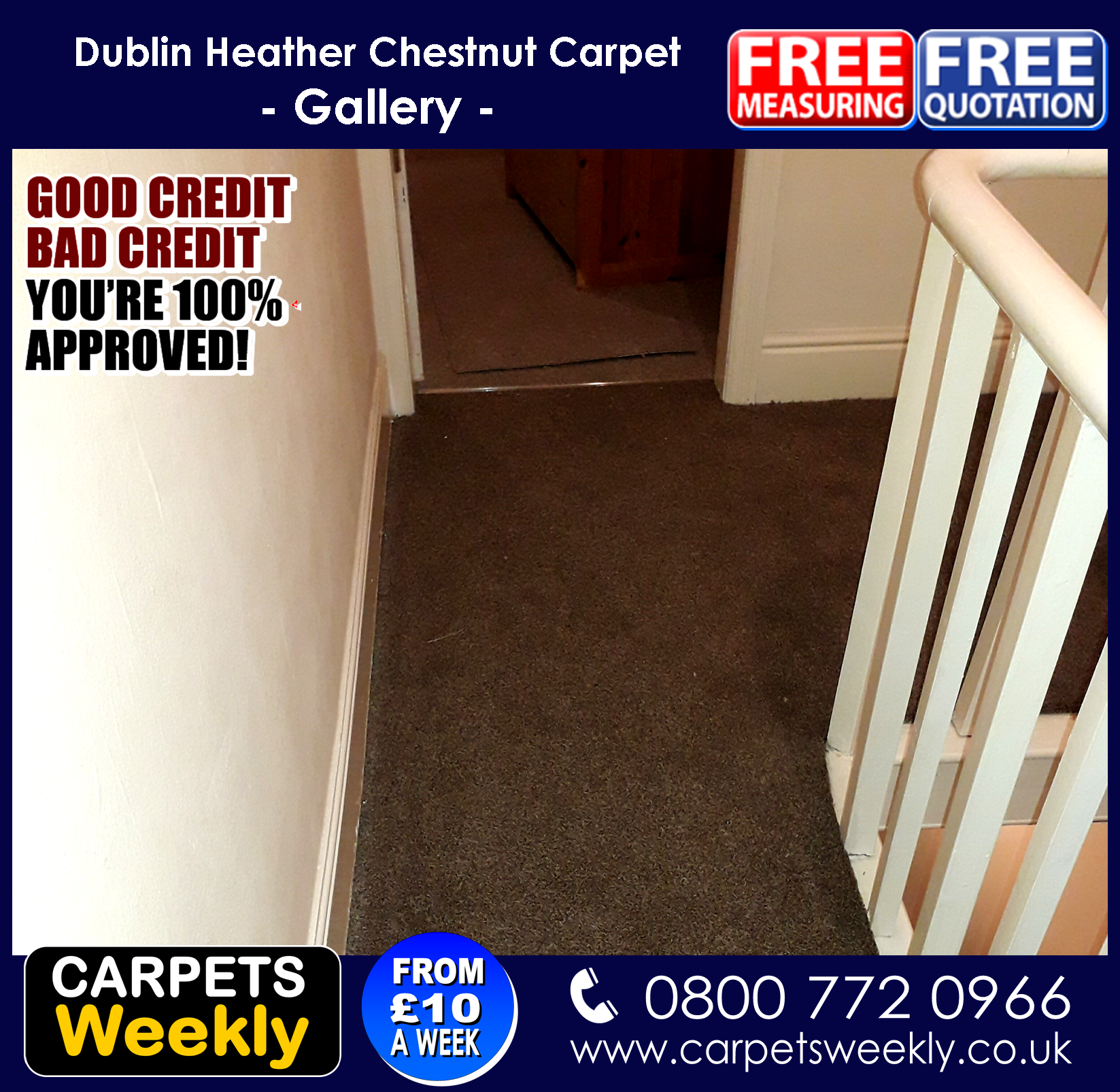 Dublin Heather Carpets from Quick Fit Carpets