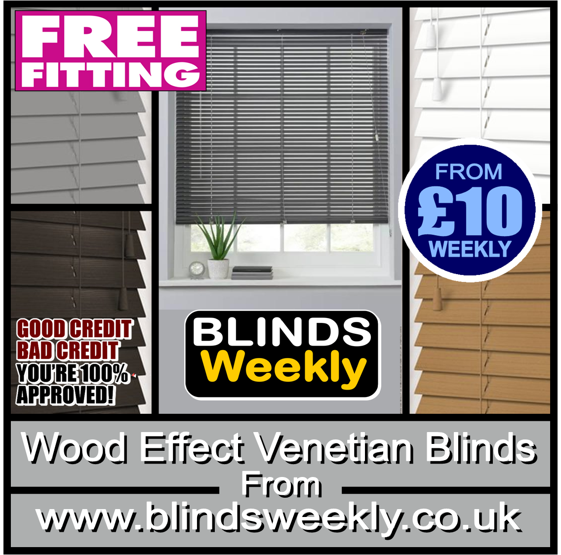 Quality Blinds from Carpets Weekly in Middlesbrough