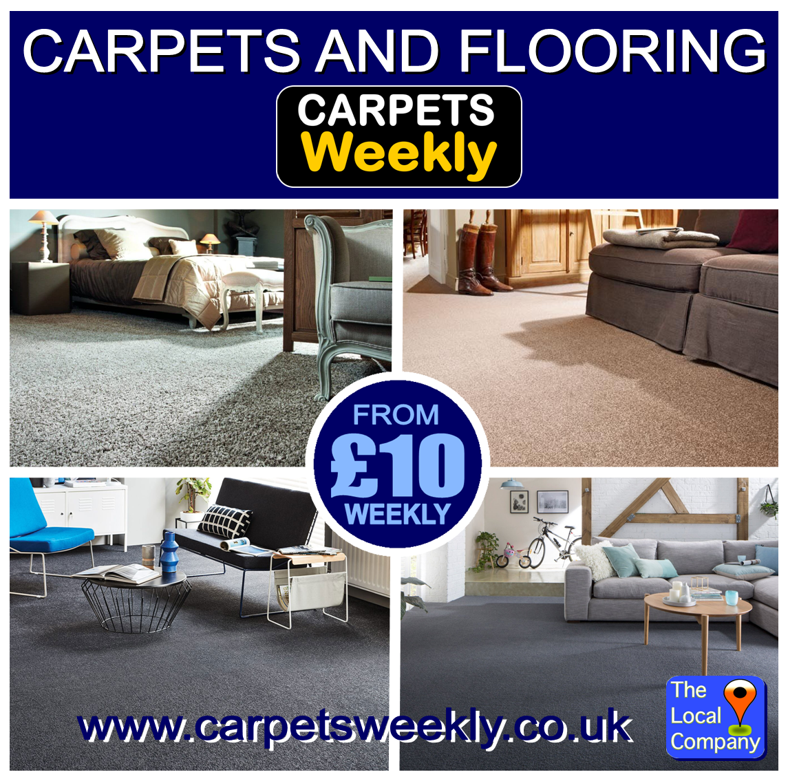 QUALITY CARPETS GUARANTEED ACCEPTANCE with Carpets Weekly in Stockton on Tees