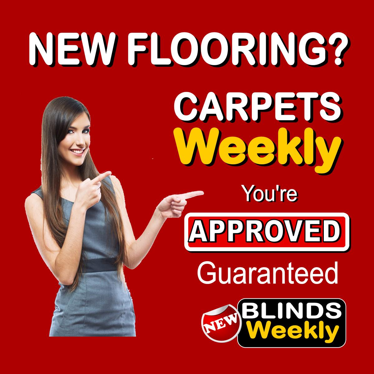 New Carpets? Guaranteed £400 credit today