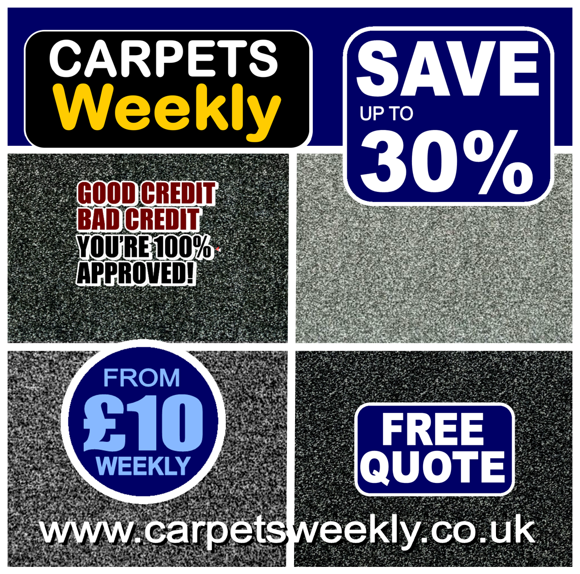 Quality carpets from Carpets Weekly in Middlesbrough