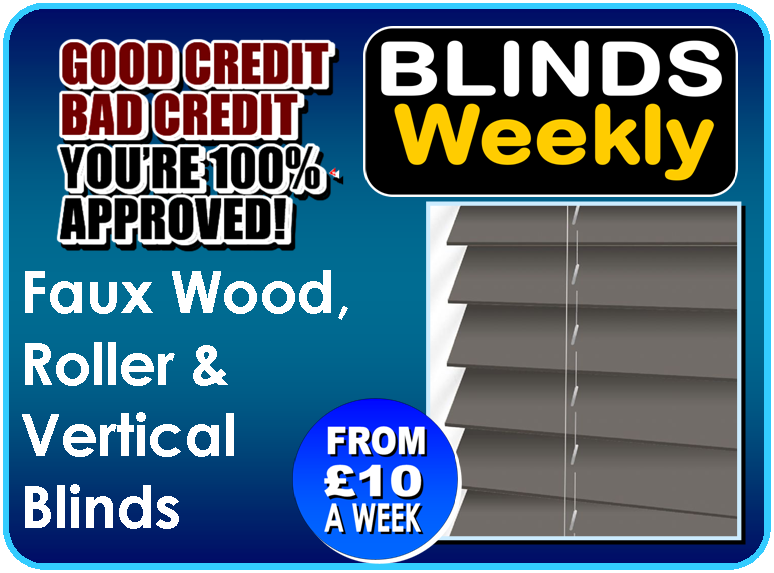 £400 Guaranteed Credit today - Pay weekly for new blinds