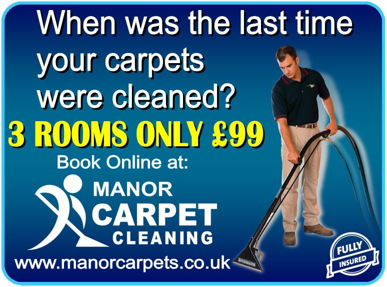 When was the last time your carpets were cleaned? Visit Manor Carpet Cleaning for more info