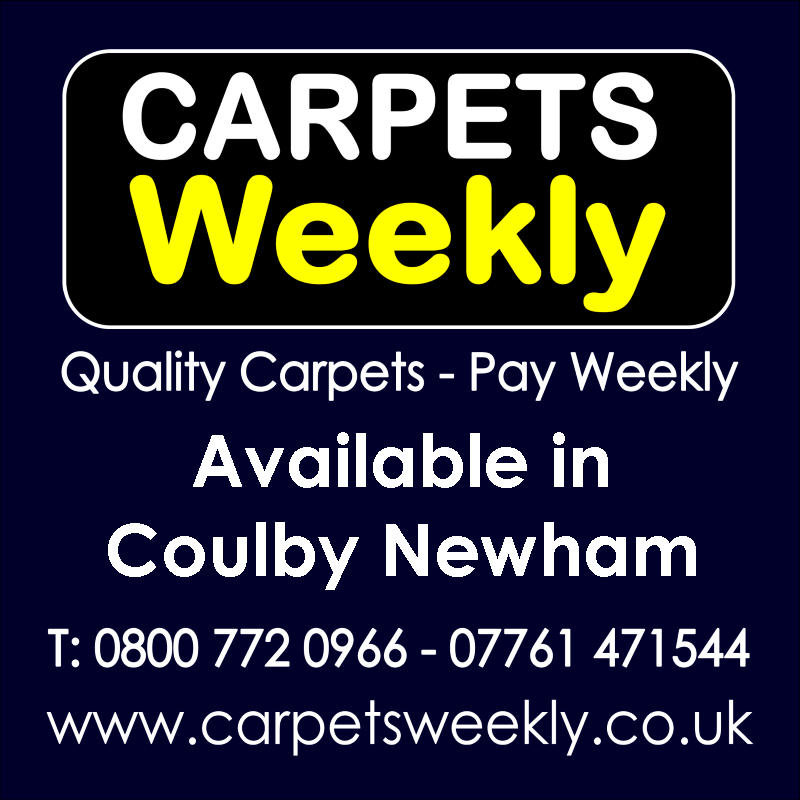 Carpets Weekly. Buy carpets and pay weekly in Coulby Newham