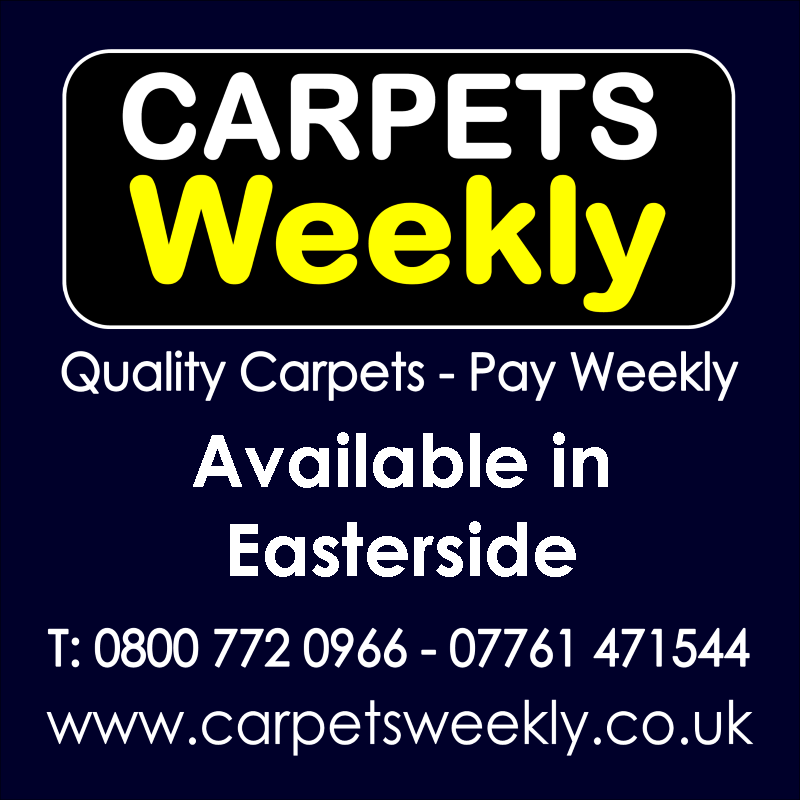 Carpets Weekly. Buy carpets and pay weekly in Easterside