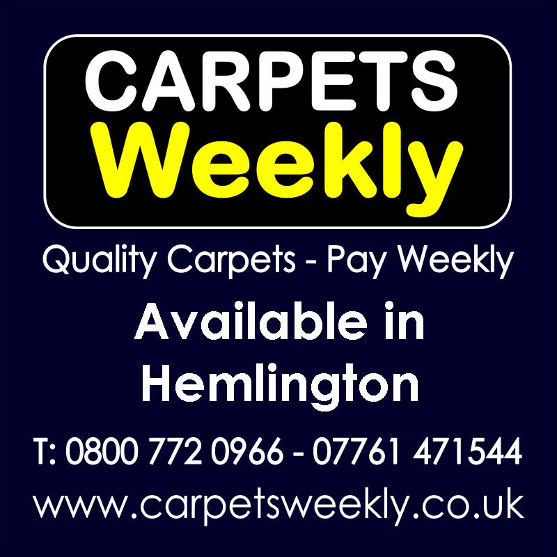 Carpets Weekly. Buy carpets and pay weekly in Hemlington