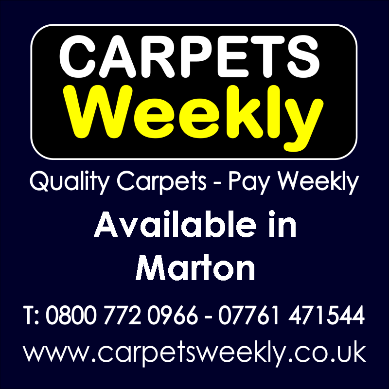 Carpets Weekly. Buy carpets and pay weekly in Marton