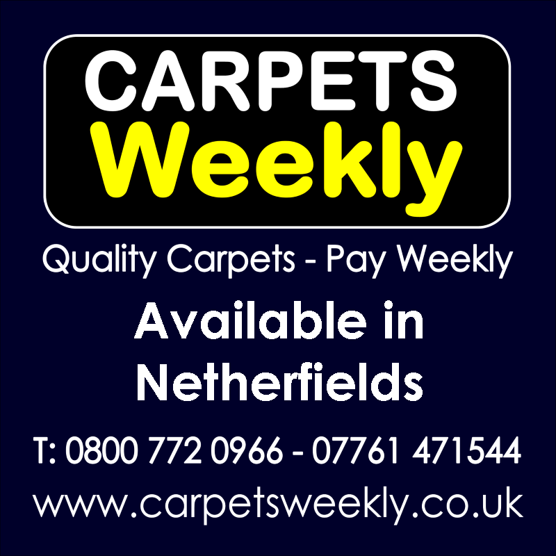 Carpets Weekly. Buy carpets and pay weekly in Netherfields
