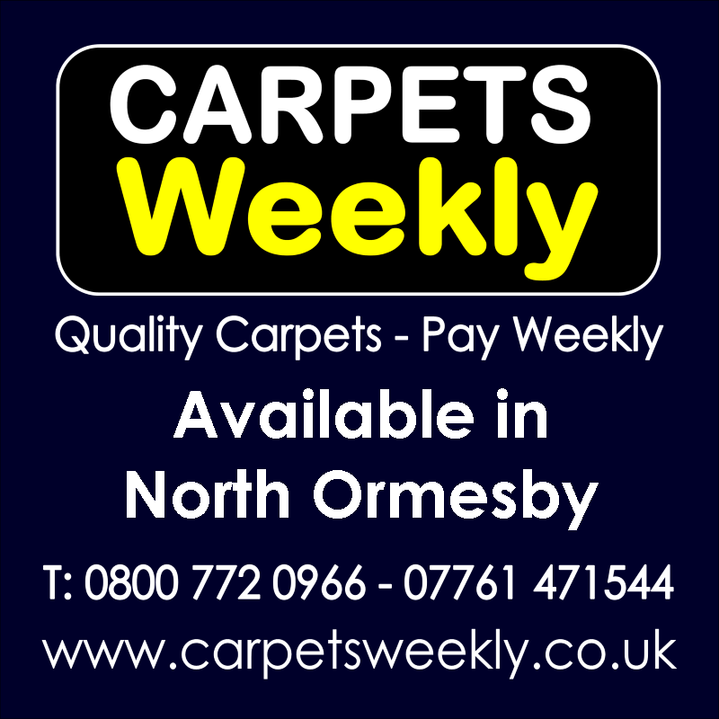 Carpets Weekly. Buy carpets and pay weekly in North Ormesby