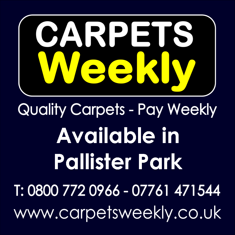 Carpets Weekly. Buy carpets and pay weekly in Pallister Park