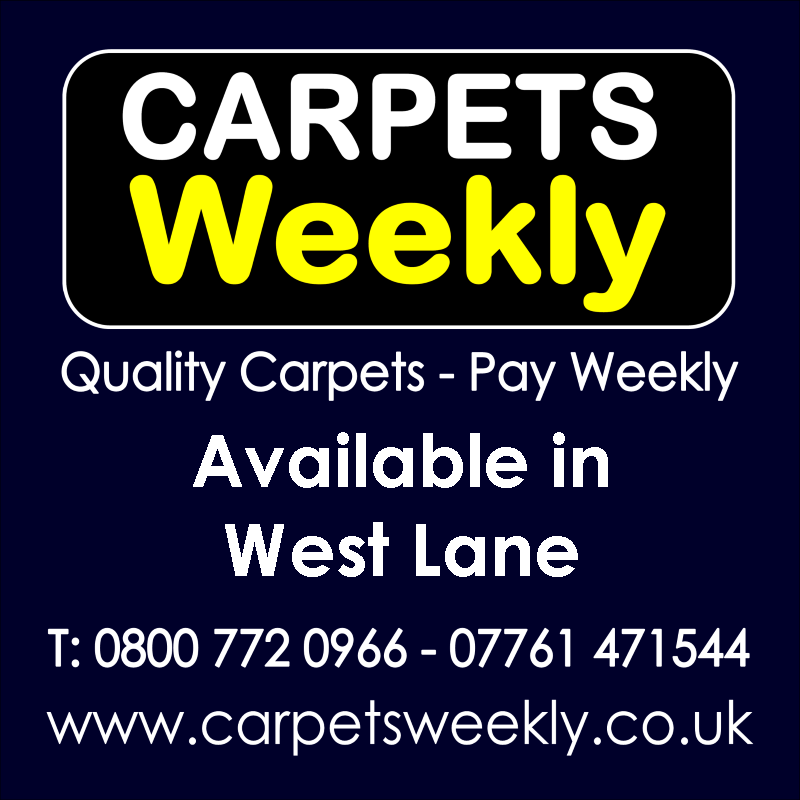 Carpets Weekly. Buy carpets and pay weekly in West Lane