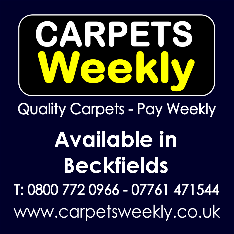 Carpets Weekly. Buy carpets and pay weekly in Beckfields
