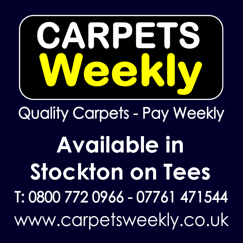Carpets Weekly. Buy carpets and pay weekly in Stockton on Tees