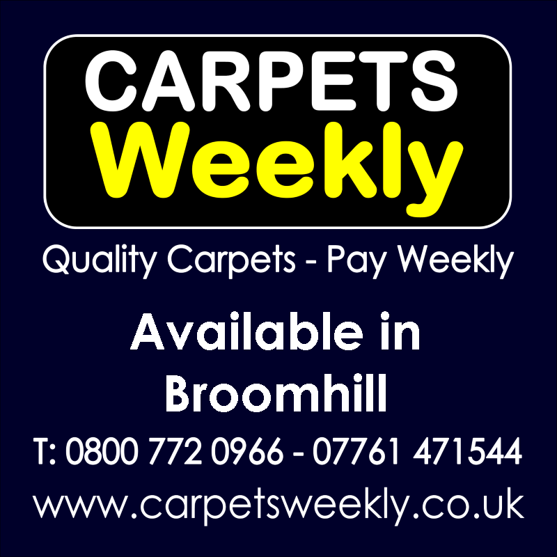 Carpets Weekly. Buy carpets and pay weekly in Broomhill