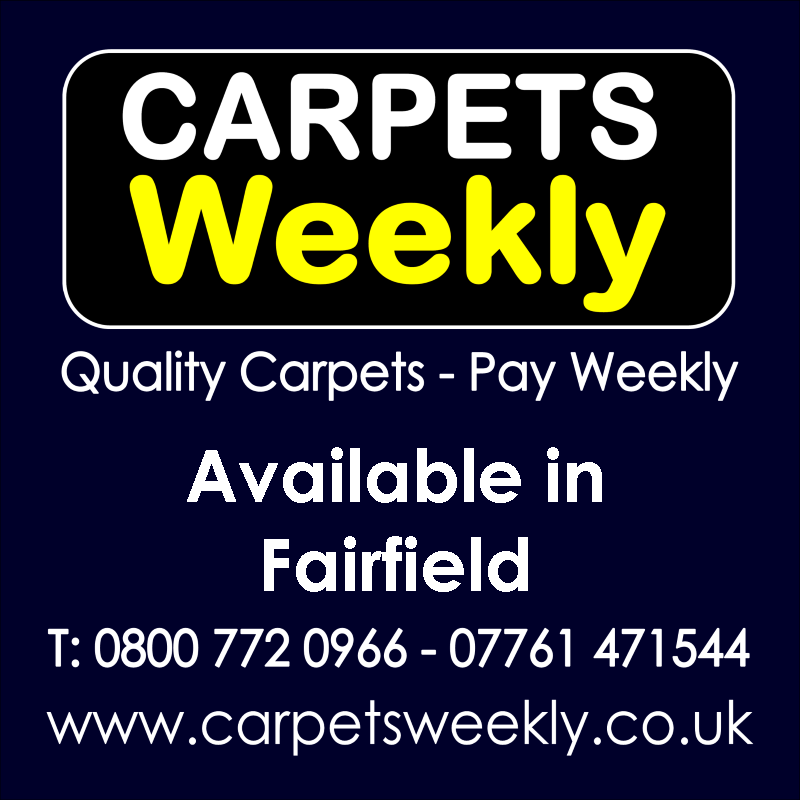 Carpets Weekly. Buy carpets and pay weekly in Fairfield