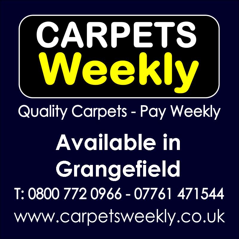 Carpets Weekly. Buy carpets and pay weekly in Grangefield