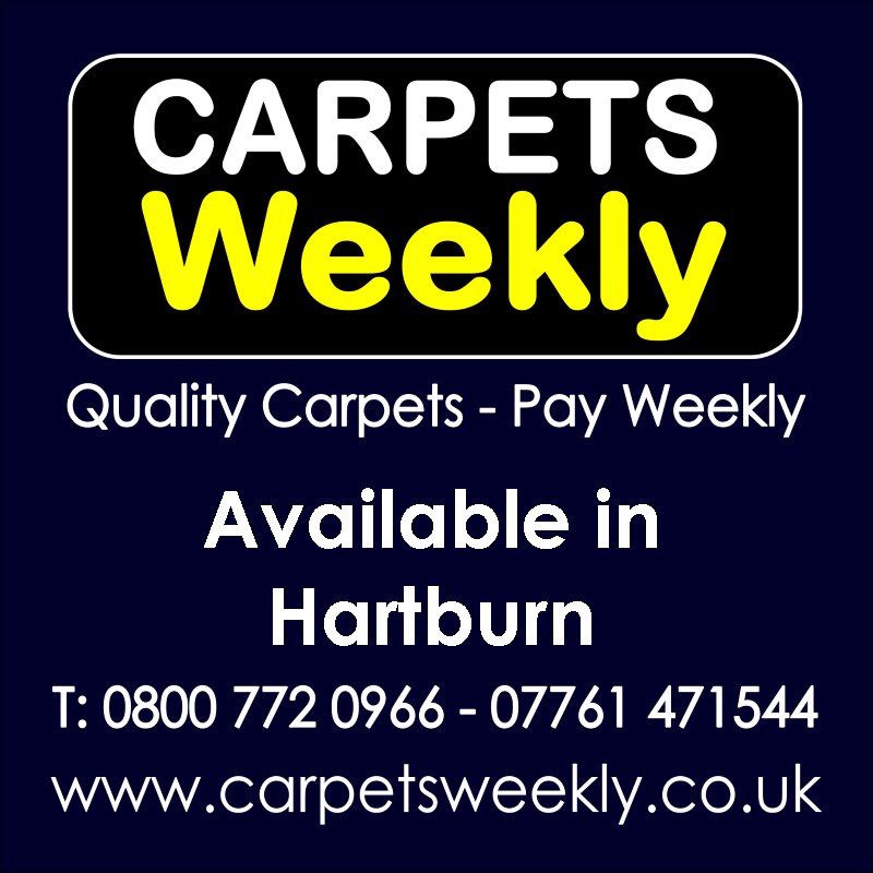 Carpets Weekly. Buy carpets and pay weekly in Hartburn