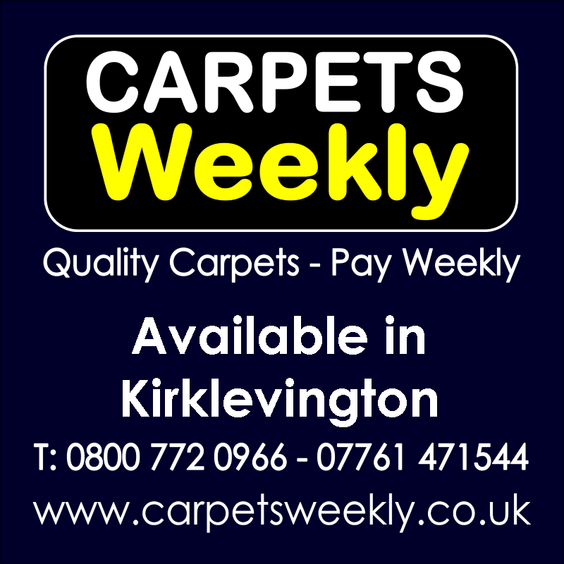 Carpets Weekly. Buy carpets and pay weekly in Kirklevington