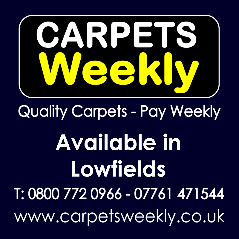 Carpets Weekly. Buy carpets and pay weekly in Lowfields