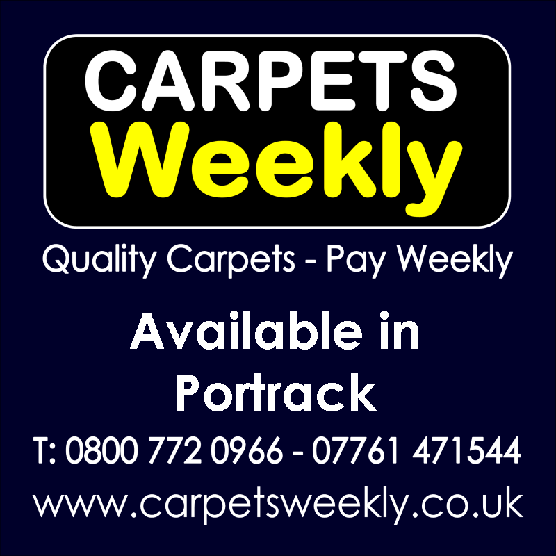Carpets Weekly. Buy carpets and pay weekly in Portrack