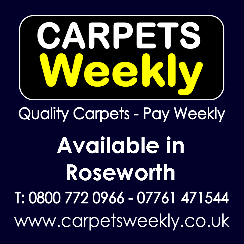 Carpets Weekly. Buy carpets and pay weekly in Roseworth