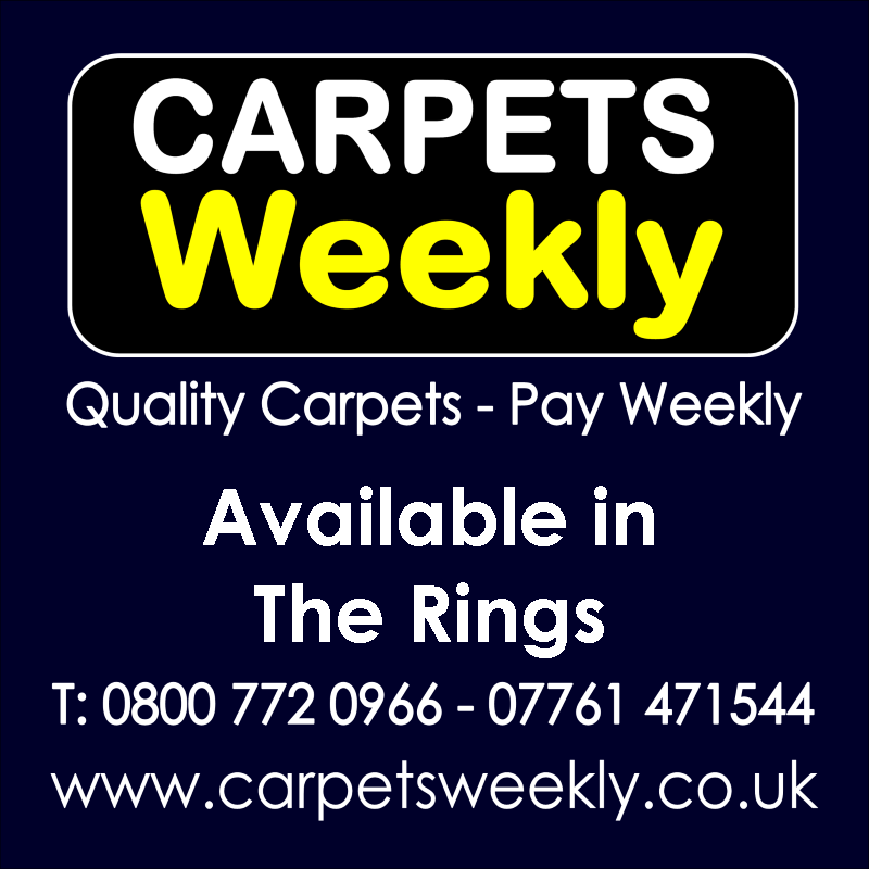 Carpets Weekly. Buy carpets and pay weekly in The Rings