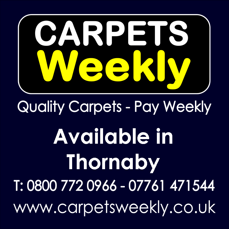 Carpets Weekly. Buy carpets and pay weekly in Thornaby