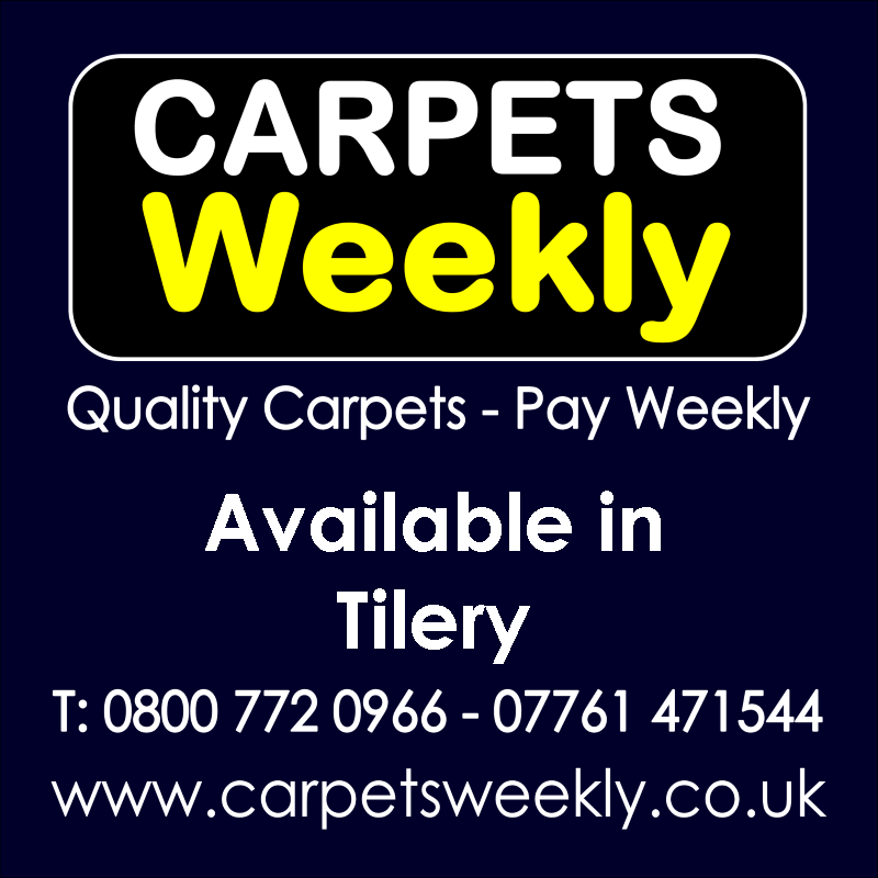 Carpets Weekly. Buy carpets and pay weekly in Tilery