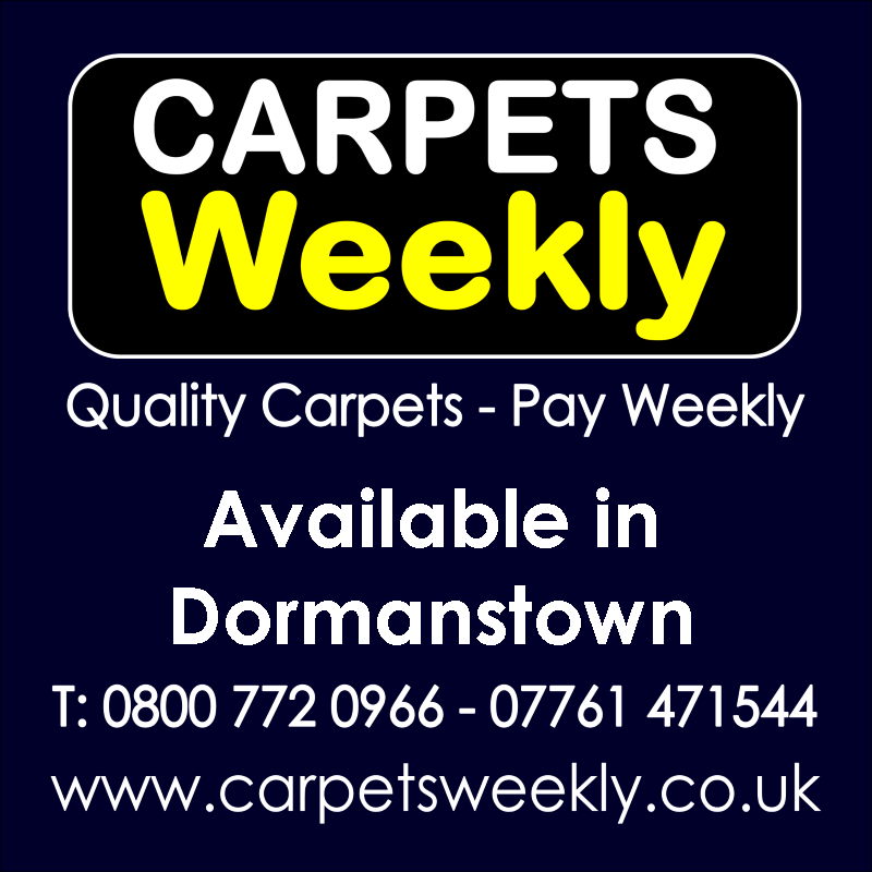 Carpets Weekly. Buy carpets and pay weekly in Dormanstown
