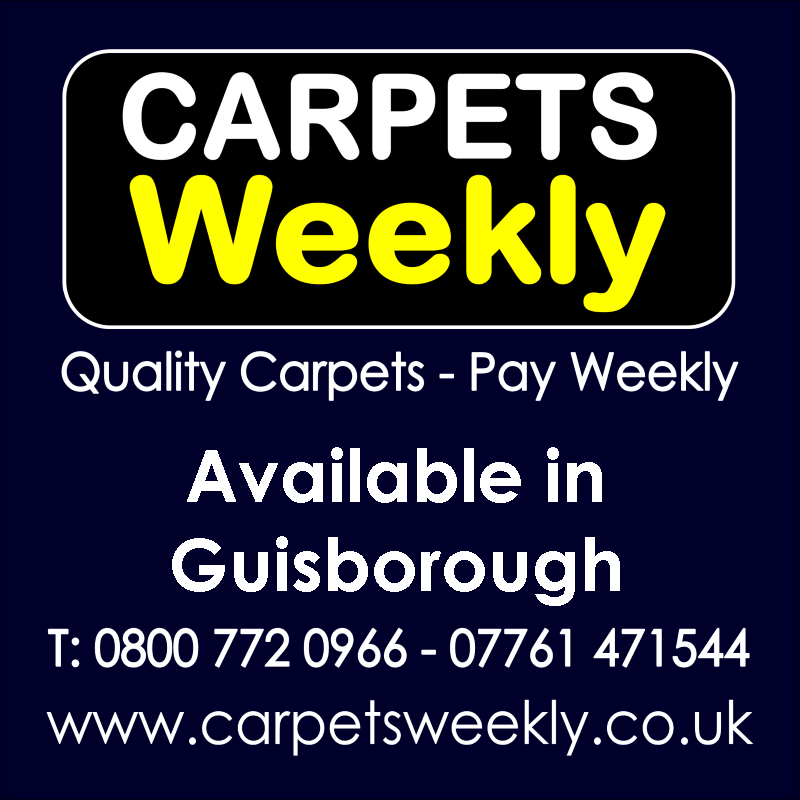 Carpets Weekly. Buy carpets and pay weekly in Guisborough