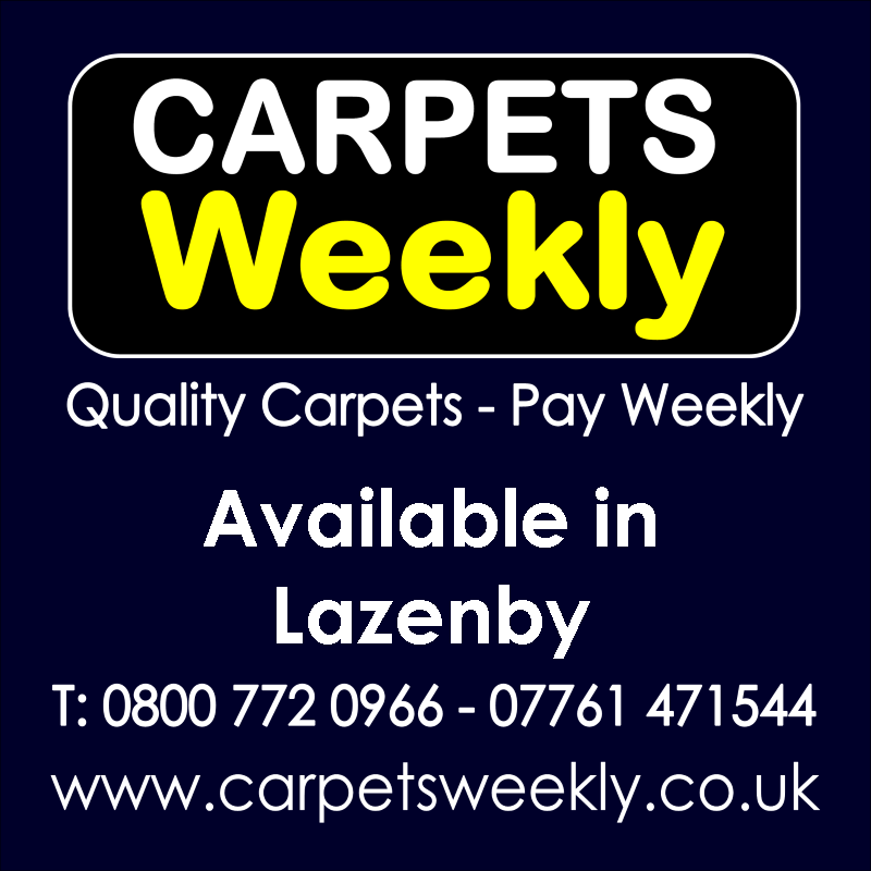 Carpets Weekly. Buy carpets and pay weekly in Lazenby