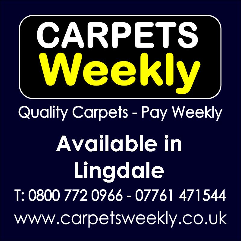 Carpets Weekly. Buy carpets and pay weekly in Lingdale