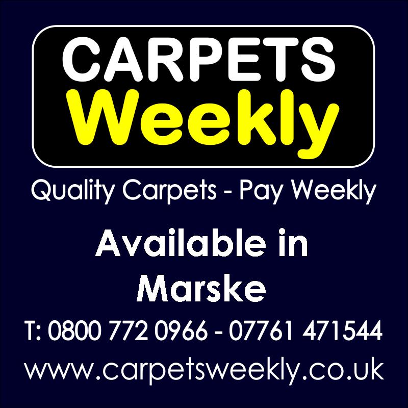 Carpets Weekly. Buy carpets and pay weekly in Marske