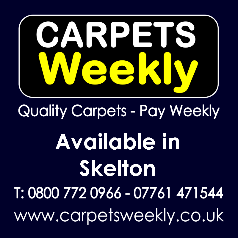 Carpets Weekly. Buy carpets and pay weekly in Skelton