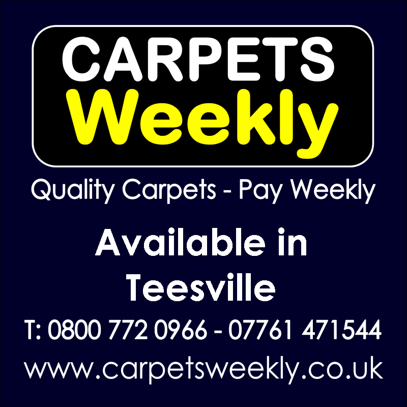 Carpets Weekly. Buy carpets and pay weekly in Teesville