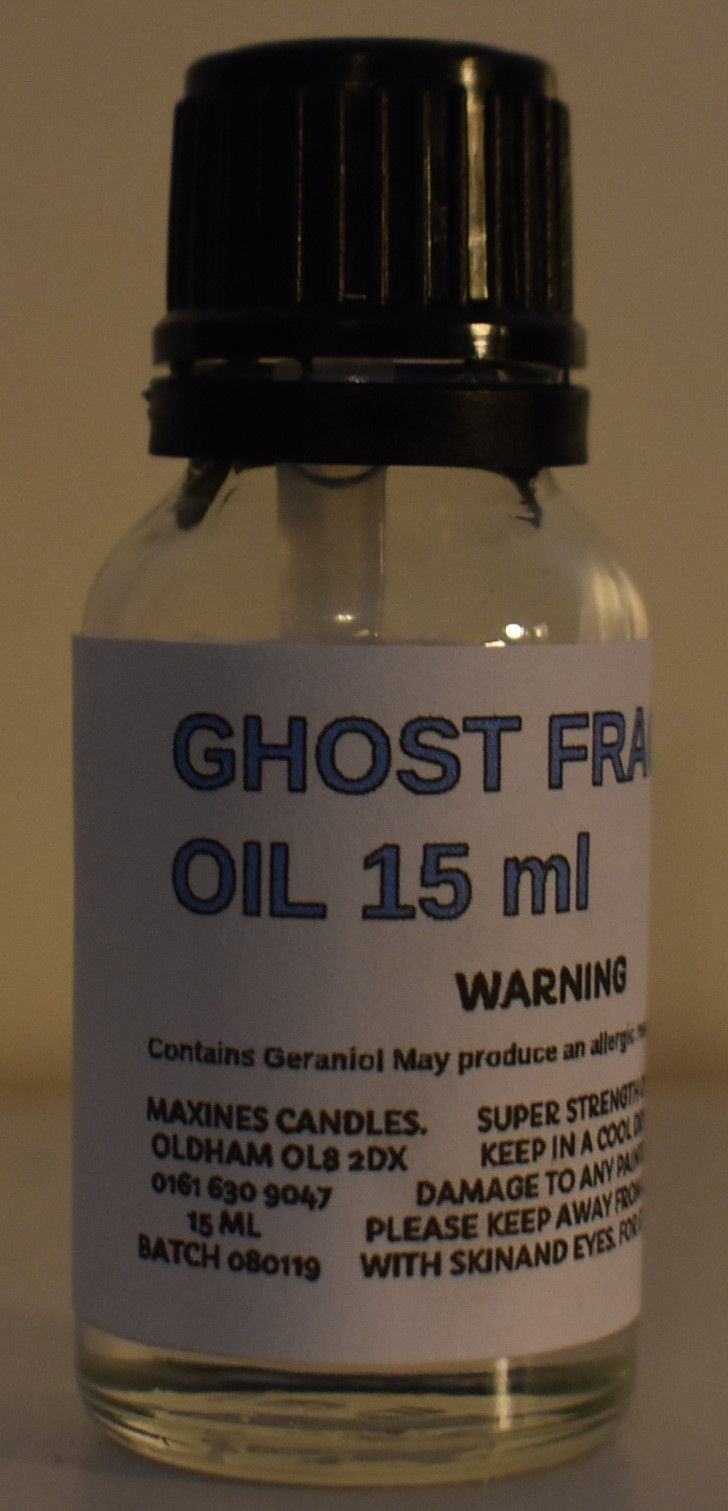 SIMILAR TO GHOST DESIGNER FRAGRANCE OIL 15 ML