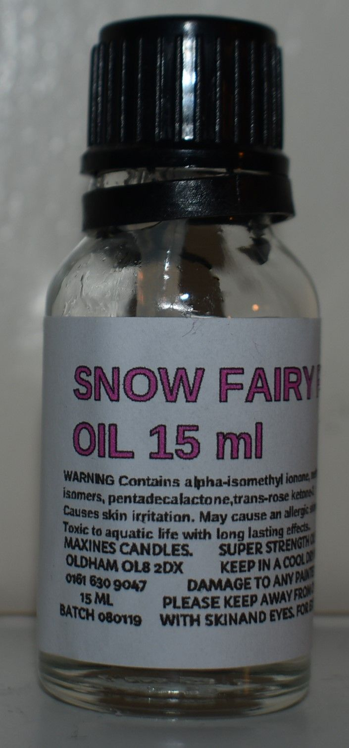 SIMILAR TO SNOW FAIRY DESIGNER FRAGRANCE OIL 15 ML