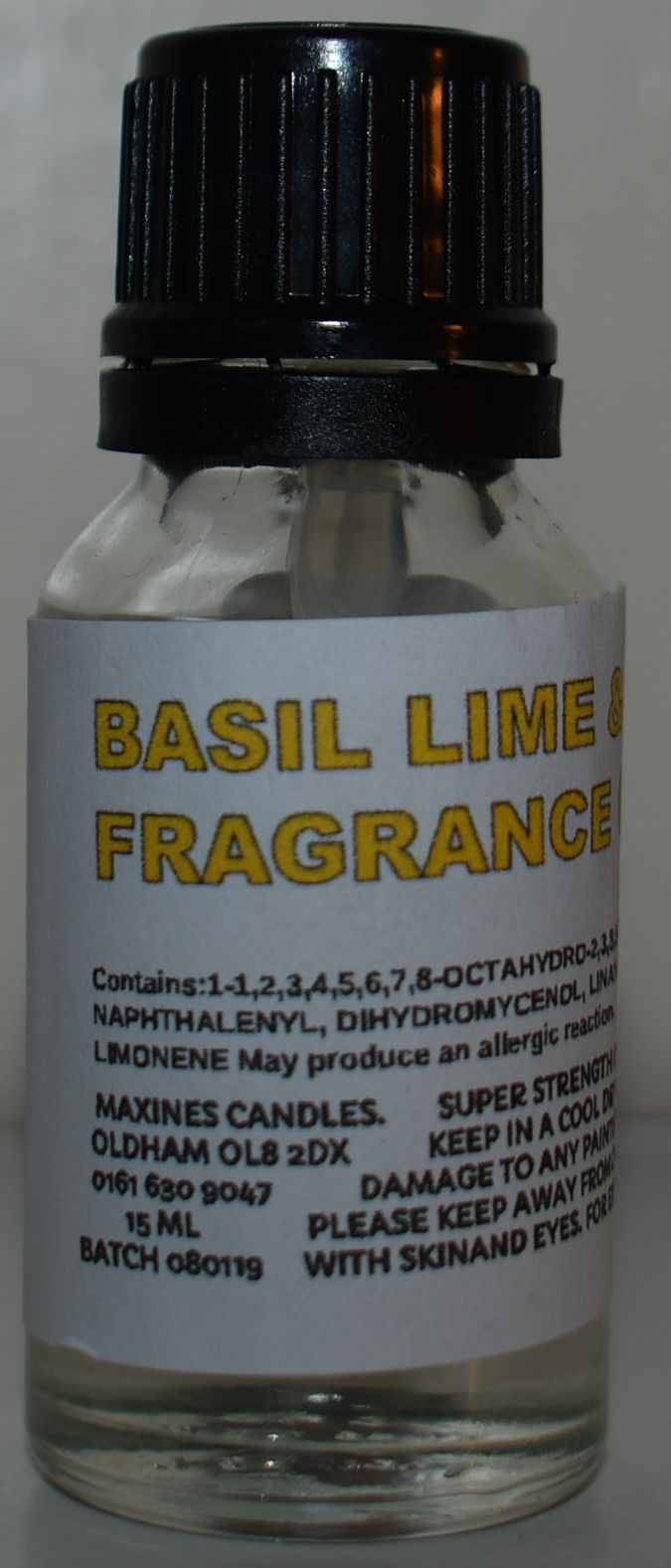 SIMILAR TO BASIL LIME & MANDARIN DIFFUSER OIL