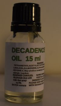 DECADENCE (SIMILAR TO ) DESIGNER FRAGRANCE DIFFUSER OIL