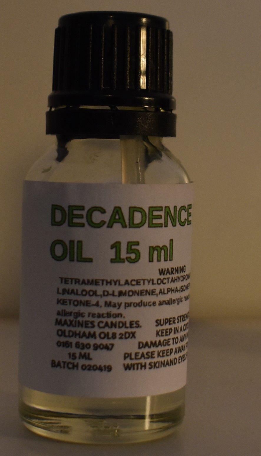 SIMILAR TO DECADENCE FRAGRANCE OIL