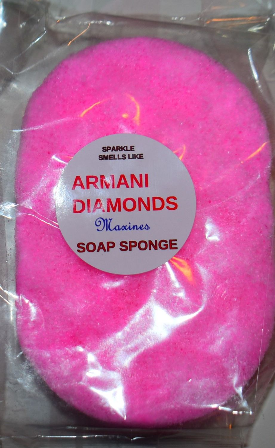 SPARKLE, SIMILAR TO ARMANI DIAMONDS SOAP SPONG
