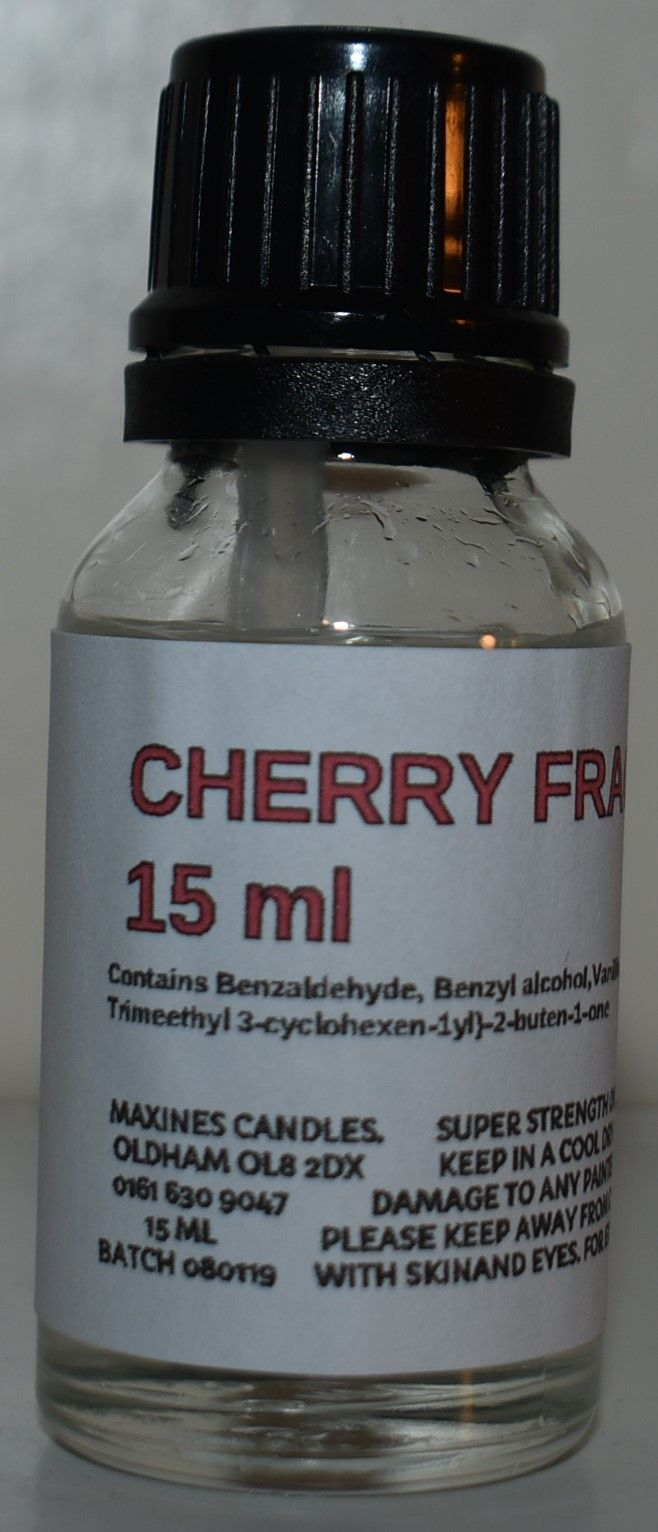 CHERRY FRAGRANCE OIL 15ML EXTRA STRONG