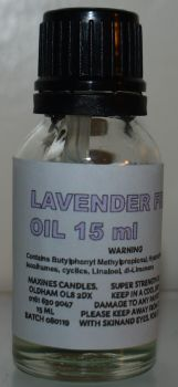 LAVENDER FRAGRANCE OIL 15ML EXTRA STRONG