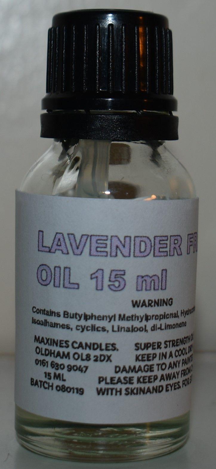 LAVENDER FRAGRANCE OIL 15ML EXTRA STRONG